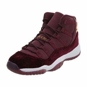 Nike 852625-650, Chaussures de Basketball Femme, Rojo Metallic Gold-Night Maroon, 38 EU
