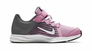 Nike Downshifter 8 (PSV), Chaussures d'Athlétisme Fille, Multicolore (Pink Rise/White/Gunsmoke/Black 602), 29.5 EU