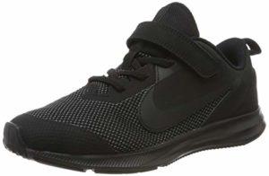 Nike Downshifter 9 (PSV), Chaussures d'Athlétisme Mixte Enfant, Noir (Black/Black/Anthracite 000), 31 EU