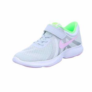 Nike Revolution 4 (PSV), Chaussures d'Athlétisme Fille, Multicolore (Pure Pink Foam/Gris Platinum Tint 006), 28.5 EU