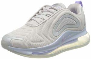 Nike W Air Max 720 Se, Chaussure de Course Femme, Vast Grey/Purple Agate-MTLC Gris Platinum, 39 EU