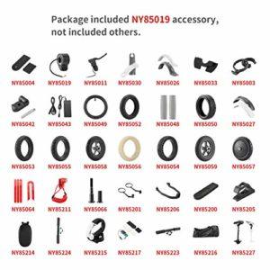 NY85019 accélérateur pédale contrôle de la Vitesse vélo électrique en Plastique en métal Pouce accélérateur Accessoires de Scooter – Noir