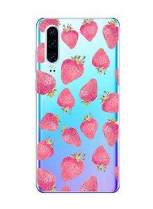 Oihxse Clair Case pour Huawei Honor 10 Coque Ultra Mince Transparent Souple TPU Gel Silicone Protecteur Housse Mignon Motif Dessin Anti-Choc Étui Bumper Cover (A10)
