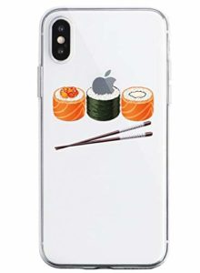 Oihxse Clair Case pour iPhone X/iPhone XS Coque Ultra Mince Transparent Souple TPU Gel Silicone Protecteur Housse Mignon Motif Dessin Anti-Choc Étui Bumper Cover (A13)