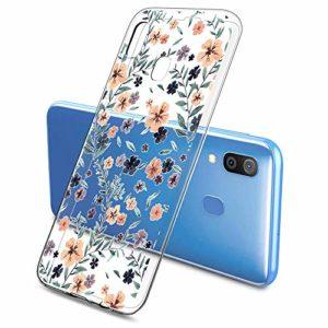 Oihxse Clair Case pour Samsung Galaxy A2 Core Coque Ultra Mince Transparent Souple TPU Gel Silicone Protecteur Housse Mignon Motif Dessin Anti-Choc Étui Bumper Cover (A14)