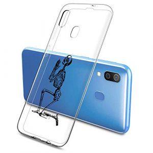 Oihxse Clair Case pour Samsung Galaxy S7 Edge Coque Ultra Mince Transparent Souple TPU Gel Silicone Protecteur Housse Mignon Motif Dessin Anti-Choc Étui Bumper Cover (A9)
