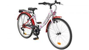 ONUX Vélo Enfant Fille Queeny, 20/24«, 6Vitesses, V de Freins 60,96cm (24Pouces)