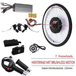 OUKANING 1000W, 48V 28″ vélo électrique Bike Conversion kit de Conversion arrière E-Bike