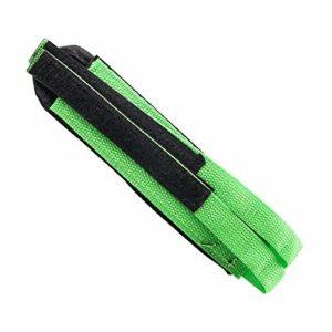Pédales pour vélo 1 Pc Nylon Pédale De Vélo Sangles Adhésives Montagne Route Vélo Pédale Toe Clip Ceinture Vélo Vélo Pédale Bande Fixe Vitesse Accessoires (Color : Green)