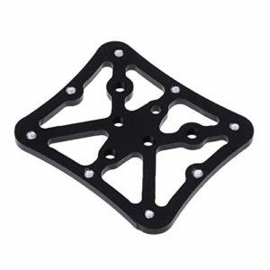 Pédales pour vélo 1 Pièce Plateforme D'adaptateur De Pédale De Vélo Vélo en Alliage D'aluminium Clipless for Shimano (Color : Black)