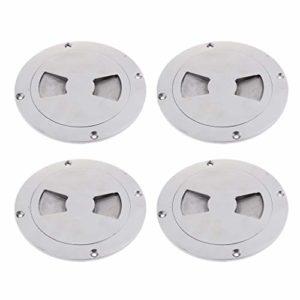 perfk Plate-Forme D'Inspection en Acier 4pcs