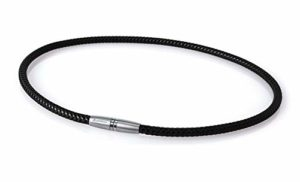 Phiten X50Titanium High End III Moda Deluxe Collier, Noir, 50,8 cm (20″)