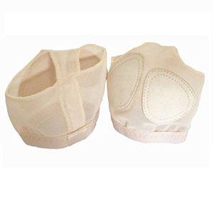 Pied Orteil String pour Danse Belly Dance String Adulte Chaussures de Ballet de l'avant-Pied Coussin Taille M