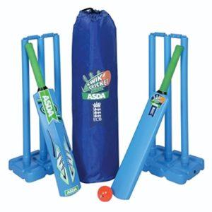 Pour enfant de cricket Sports Accessoires en intérieur et en extérieur jouer KWIK Plastique Ensemble