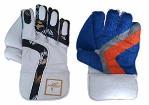 Premium Wicket Keeping Gloves Green White