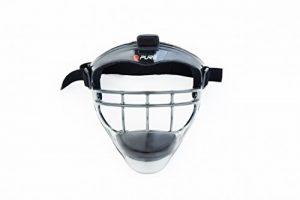 Pure2Improve P2I100470 Masque Bouclier de Sport Mixte Adulte, Noir