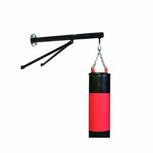 QIANGGAO Support de Gymnastique Lourd Menton Pull Up Bar Fitness Plafond Cadre Boxe MMA Extérieur Supports Montés Au Mur