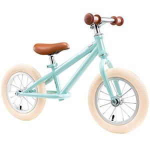 QINGTAOSHOP Balançoire Vélo Vélo d'entraînement pour Enfants sans Pédale avec Bell et Main Brak12 Pouces (Color : Blue, Size : 56*87cm)