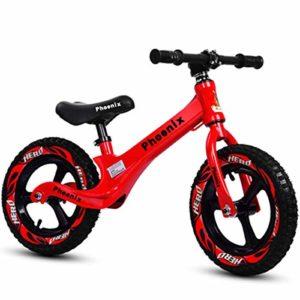 QunWang Vélo pour Enfants Balance pour Enfants Vélo D'entraînement pour Vélos 2-6 Ans Balance Balance pour Enfants Red-OneSize