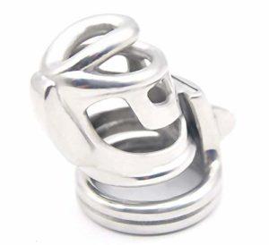 Roo-16HAO Design Ergonomique en Acier Inoxydable Nouveau Design Respirant Convient à la Plupart des Hommes (52mm) -58