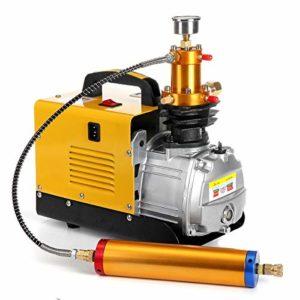 Rtyrytiiu Dispositif Pompe à Haute Pression 40Mpa de compresseur d'air de Pompe Gonflable électrique de plongée du compresseur 4500PSI 1.8KW