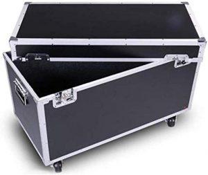 RZiioo Boîtes à Outils en Aluminium Case Flight Case Coffre Boîtes de Rangement verrouillables avec poignées de conteneurs