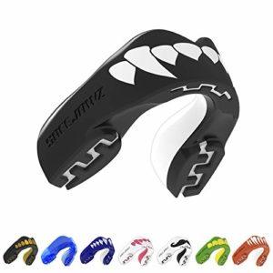 SAFEJAWZ Protège-Dents 'Extro Séries'. Protection intégrale pour Tous Les Sports, notamment Le Rugby, MMA, Les Arts Martiaux et la Boxe. (Fangz, Jeune (Jusqu'à 11 Ans))