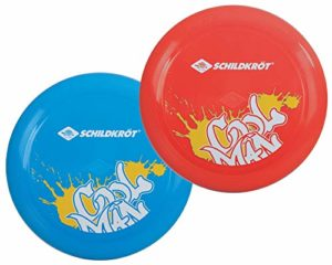 Schildkröt Fun Sports Speeddisc Basic Freesbee mixte enfant Bleu Rouge Assorti Taille Unique