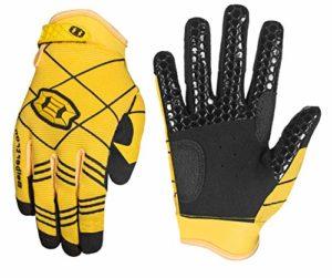 Seibertron B-A-R Pro 2.0 Signature Gants de Baseball/Softball Batting Gloves Super Grip Finger Fit for Adult/Adulte Yellow XL