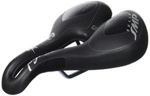 Selle de vélo noir TRK Gel SMP pour femme