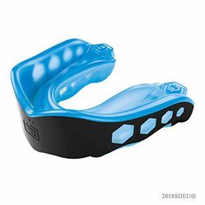 Shock Doctor 6100Y Protection de la bouche Mixte Adulte, Bleu/Noir, Enfant