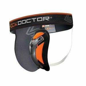 ShockDoctor Coquille de Protection avec Ultra Carbon Flex Cup pour Hommes – Concu pour faire du Sports de Combat: Boxe, Karate, Taekwondo, Krav Maga, MMA, Muay Thai…