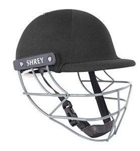 SHREY Performance 2.0-Steel Black Youth Cricket Helmet Casque Mixte, Noir, Junior