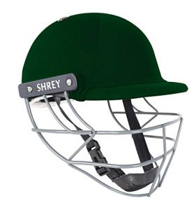 SHREY Performance 2.0-Steel Green Youth Cricket Helmet Casque Mixte, Vert, Junior