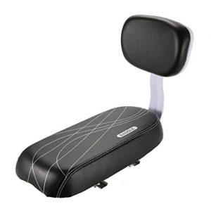 Siège arrière de vélo – siège sécurité pour enfant avec coussin doux et dossier
