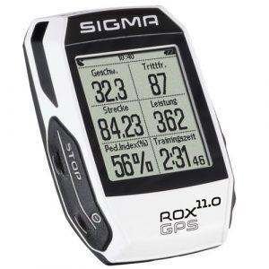 Sigma Rox Compteur de GPS Mixte Adulte, Blanc