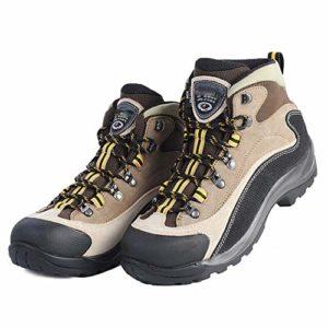 SLMY Chaussures de randonnée pour hommes, Baskets chaudes pour hommes, entièrement doublées en fourrure, antidérapants pour la randonnée, urbains-41