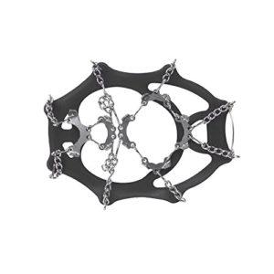 SNOWLINE Chainsen Light Crampon pour Chaussure Mixte Adulte, Noir, L