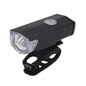 SODIAL USB Rechargeable Velo Avant Lumiere LED Velo Velo Phare