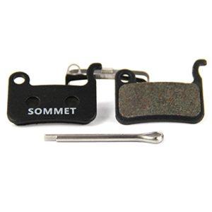 SOMMET Bicyclette Plaquettes de Frein à Disque pour Shimano XTR M975 M966 M965/XT M775 M776 M765/SLX M665/Deore M596 M595 M545 M535 M505/LX M585/Hone M601/SAINT M800/BR-R505 S501 S500 T665 T605