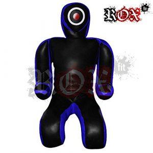 Soumission style combat Sucette par Rox Coupe Double face, perforation frappant Sucette brazilaian jiujistsu Formation Sac 5m & 6m Bleu Noir (vide) noir Bleu/noir 6 Foot (1.8 meters)