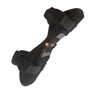 Soutien au Printemps Coussin pour Les Genoux Brace Respirante Rebond Booster Booster réglable Patella commun pour l'alpinisme Squat Randonnée Sports