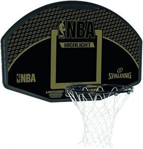 Spalding NBA Composite Fan Backboard (80381CN) ohne Farbe, NOSIZE