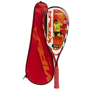 Speedminton 400327 Raquette Mixte Adulte, Rouge, Taille Unique