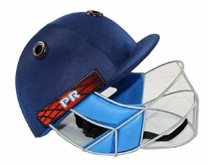 Splay Academy Casque de Cricket avec Grille de Protection auditive, m