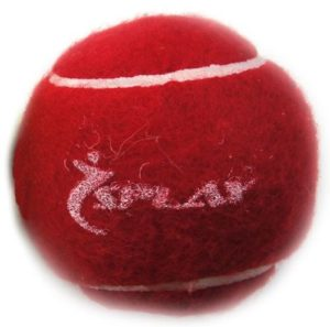 Splay Cricket Balle de Tennis – Rouge Lot de 6
