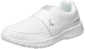 Suecos® Edda, Chaussures de Travail Mixte Adulte, Blanc (White 01), 39 EU