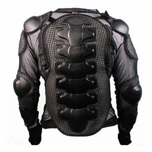 TINERS Moto Full Body Armor Jacket MX ATV Jacket Colonne vertébrale Protection de la Poitrine Protection pour Le Motocross,XL