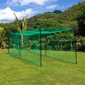 Ultime Jardin cricketnetz–16M (52ft) [net World Sports]