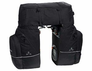 VAUDE Karakorum, 3 Poches pour Roue arrière Taille Unique Noir uni